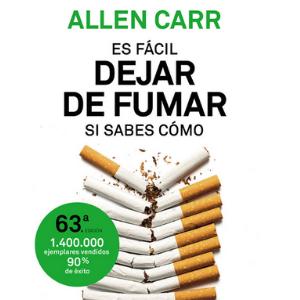 Es fácil dejar de fumar, si sabes cómo, libro como dejar de fumar
