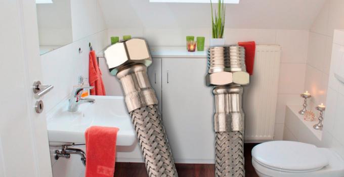 como cambiar el flexible del fregadero, como cambiar el latiguillo de fregadero, como cambiar latiguillo grifo fregadero, tubo flexible fregadero